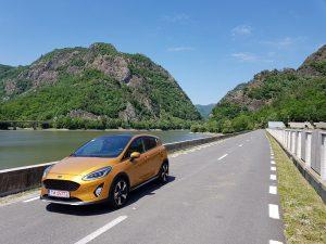 Prim contact test cu Ford Fiesta Active (2)
