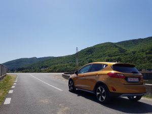 Prim contact test cu Ford Fiesta Active (4)