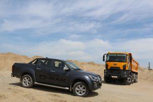 Camion constructii Ford cu ISUZU (1)