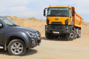 Camion constructii Ford cu ISUZU (4)