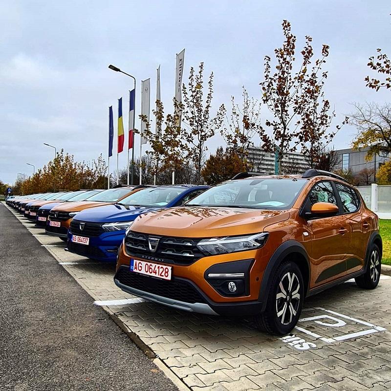 Vânzările de automobile marca Dacia au crescut cu 10,2% în primul trimestru