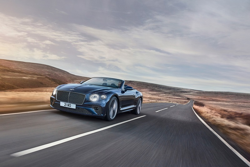 Bentley Motors a lansat Continental GT Speed ​​Convertible