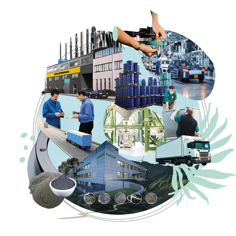 BMW Group creează un ciclu de materiale în buclă închisă pentru instrumentele de producţie cu tungsten pentru a proteja resursele valoroase
