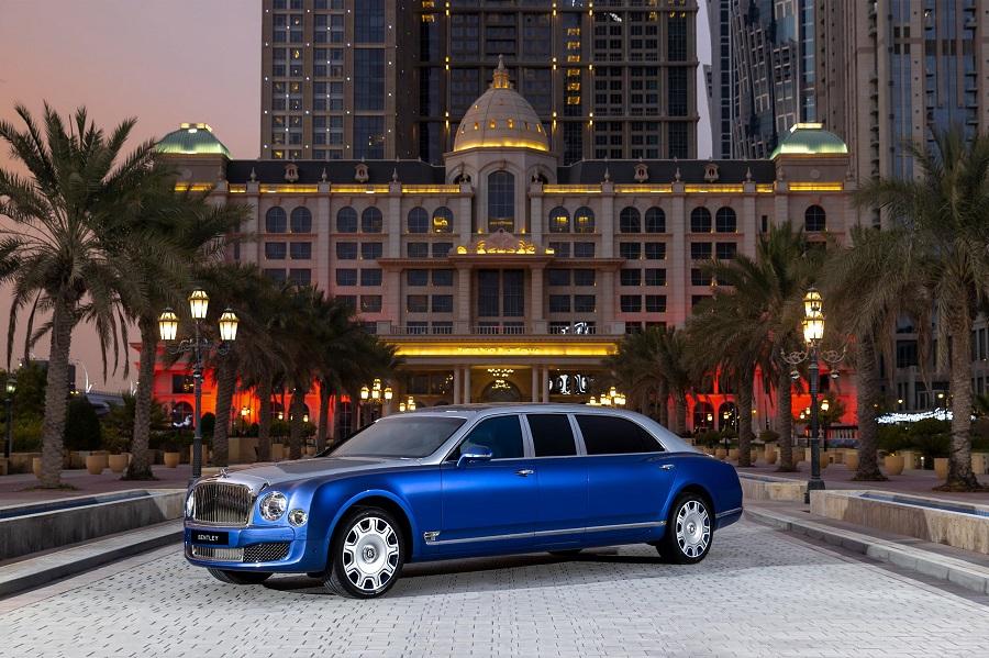 5 limuzine de lux Bentley Mulsanne Grand Limousine by Mulliner, disponibile