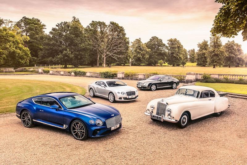 70 de ani de design Bentley