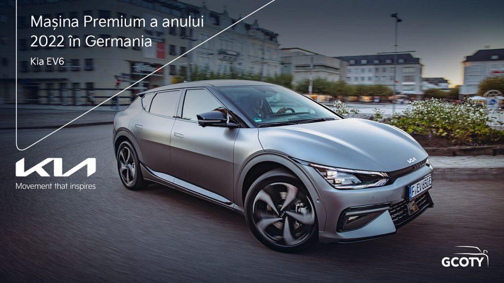 """Kia EV6 este încoronată """"Mașina Premium a anului 2022 în Germania"""""""