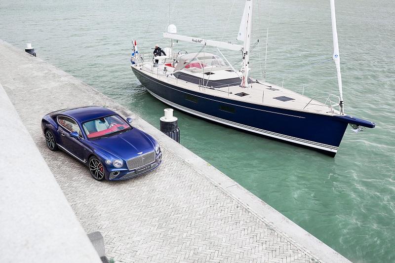 Proiect unic Bentley Motors și Contest Yachts pentru designul interior al unui yacht